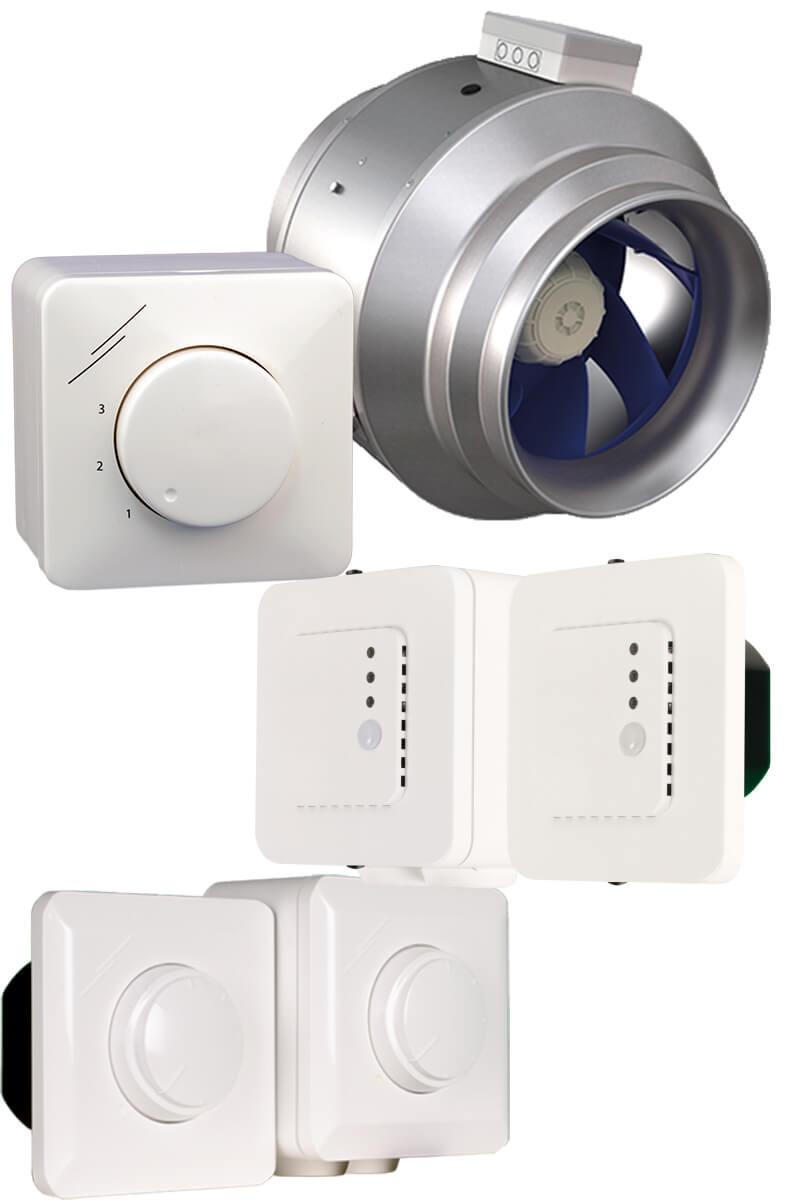 Tipo de controladores para ventiladores EC