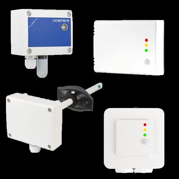 Sensores HVAC de Sentera